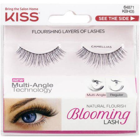 KISS Natural Flourish Blooming Lash False Eyelashes, Camellias, 1 pr - Walmart.com