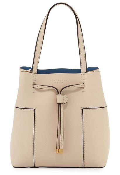 Block t small bucket bag by Tory Burch  toryburch  bags acfe0b4829863
