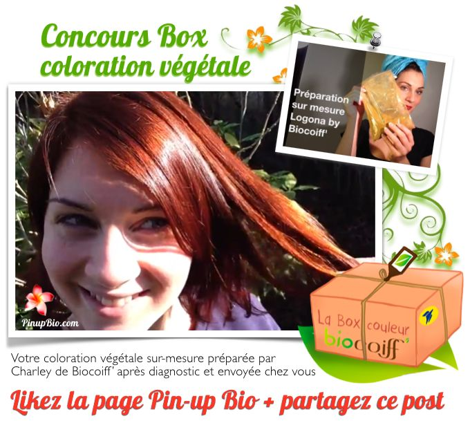 concours coloration vgtale sur mesure logona by biocoiff httpwww - France In Paris Coloration Vgtale