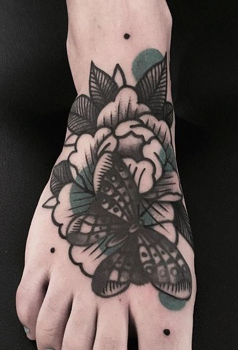 Matik flower tattoo