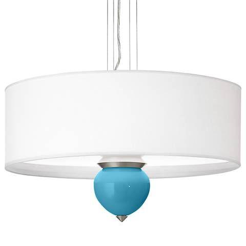 "Jamaica Bay Cleo 24"" Wide Pendant Chandelier - #3V186-X8936-4F572-3V149   Lamps Plus"