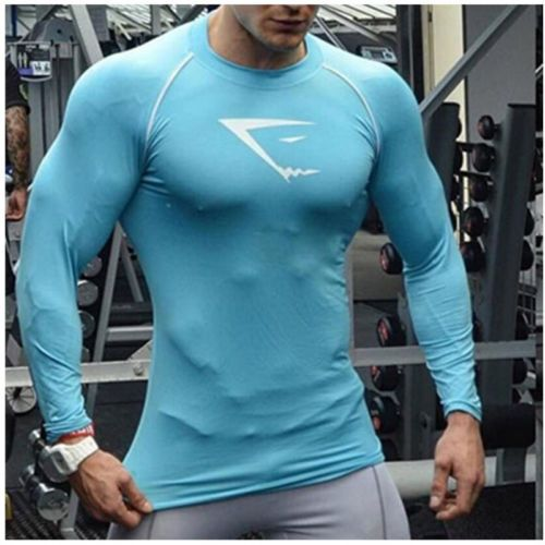 Bodybuilding-Gym-Men-Causal-Vest-Tank-Top-Muscle-Clothing-Long-sleeve-T-Shirt