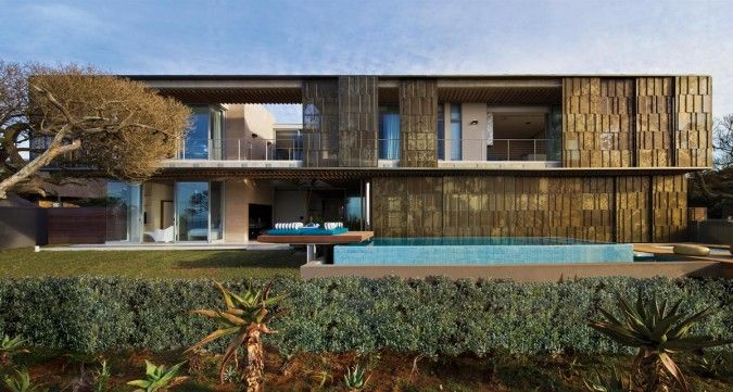 Contemporary Architecture Design With Simple Balcony Ideas