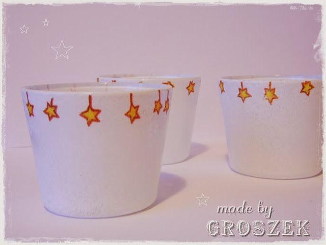 Made by Groszek: Świeczniki/Candlesticks