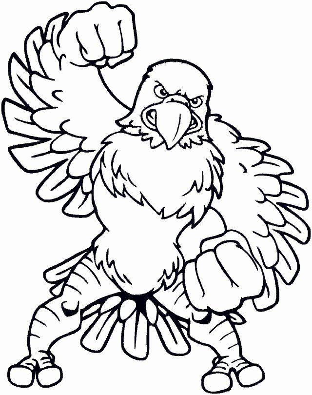 Bald Eagle Coloring Page Unique Free Cartoon Bald Eagle Download Free Clip Art Free Clip In 2020 Animal Coloring Pages Coloring Pages Coloring Pictures