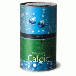 Calcic  This product is a calcium salt traditionally used in the food industry, for example in cheese making. Calcic is essential in the reaction with Algin that produces spherification.    It is the ideal reactant for its high water solubility, considerable calcium content, and consequently great capacity for producing spherification.    Presented in granules. Highly water soluble. Great moisture absorption capacity.    Price per 600g can -  $28.99 NZD