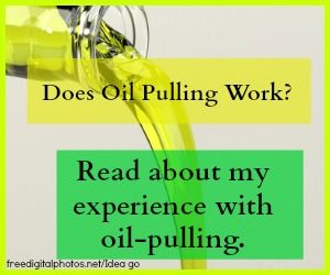 Does Oil Pulling Work? My Oil Pulling Experiment. -