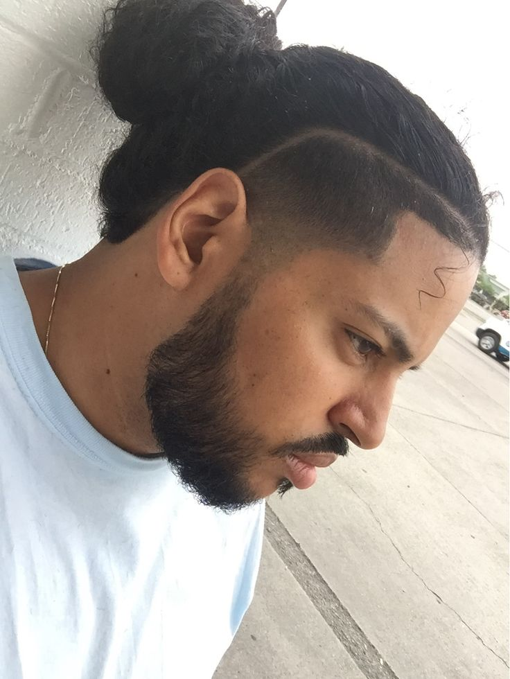 man bun x temp fade taper fade beard gang bun hairstyles pinterest taper fade man bun. Black Bedroom Furniture Sets. Home Design Ideas