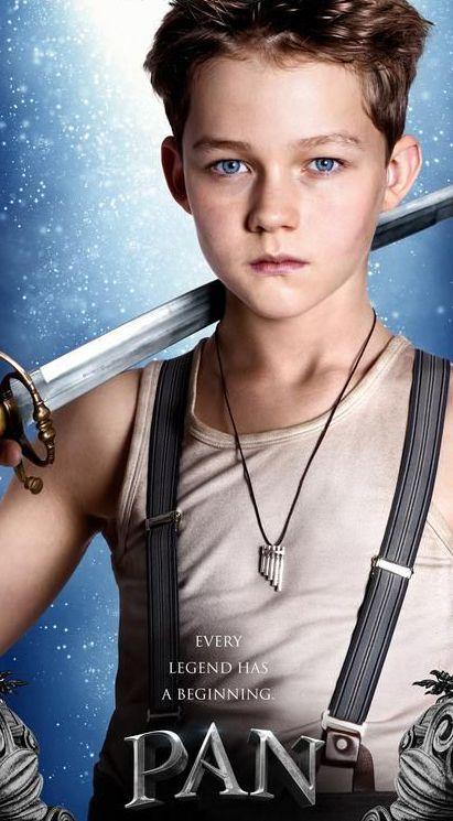 Levi Miller as Peter Pan in 'Pan' (2015).