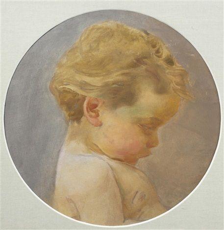 Franz Dvorak Study of Children's Heads