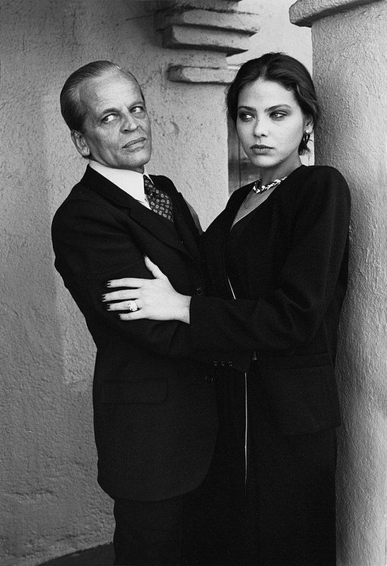 "Ornella Muti, 1981  with Klaus Kinski ...for ""Love & Money"" (USA/ West Germany 1982)"