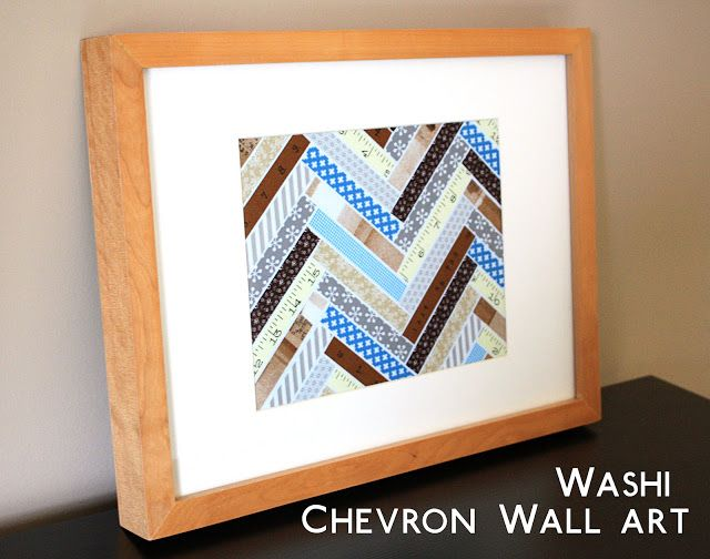 261 best images about washi frames walls on pinterest for Washi tape wall art