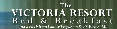 A South Haven Michigan Bed and Breakfast, Victoria Resort Bed and Breakfast near Lake Michigan