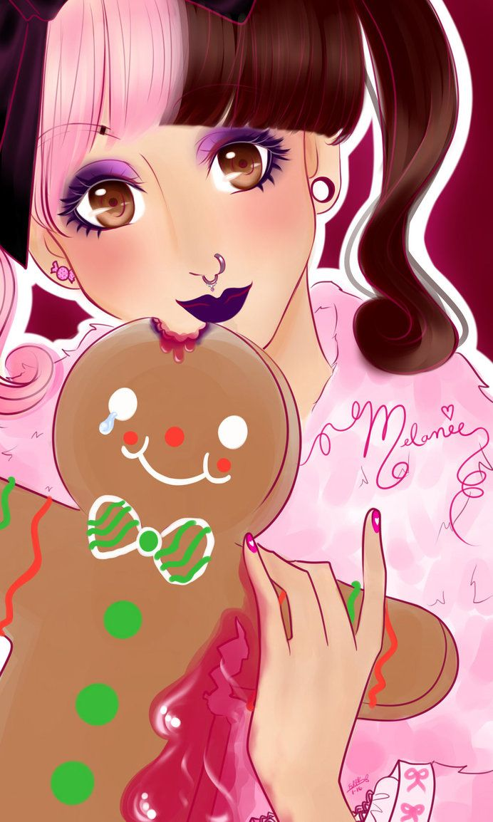 Hihii~ A little different concept this time, a fanart of my recent and deeply into my heart Melanie Martinez with the Gingerbread man she talks about in the newest song she released n.n Go and have...