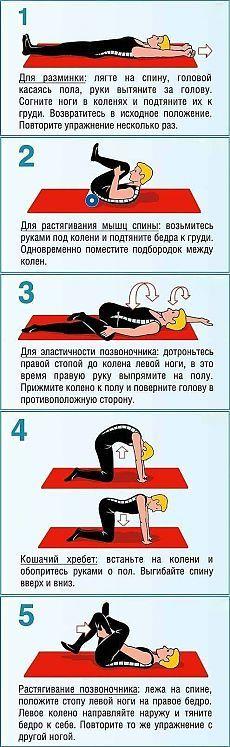 После этих упражнений вы забудете о болях в спине навсегда | Golbis