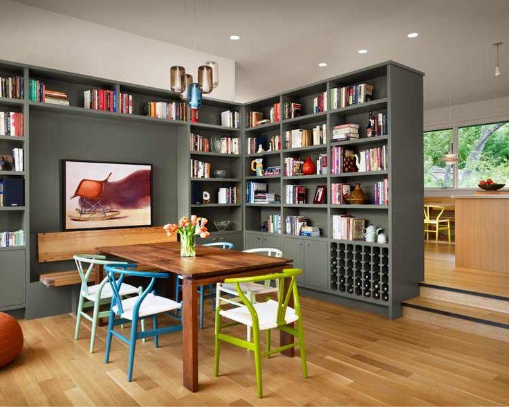 【課題解決プラス楽しみ追加】ダイニングの作り付け棚とイカす酒棚 | 住宅デザイン