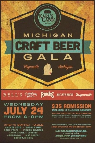 9 best images about gala posters on pinterest craft beer for Michigan craft beer festival