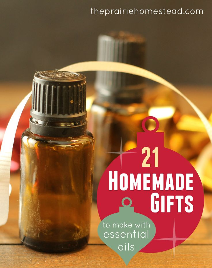 homemade gifts you can make with your essential oil stash!