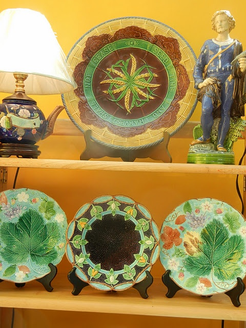 Majolica & 7133 best Antique Majolica Palissy u0026 Barbotine Pottery images on ...
