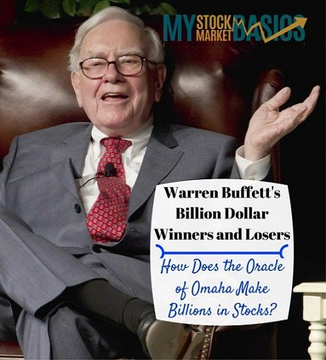 How does Warren Buffett pick stocks? Check out the Oracle of Omaha's billion dollar winners and losers of last year and how to put together your stock portfolio. An easy investing strategy around value and cash return.
