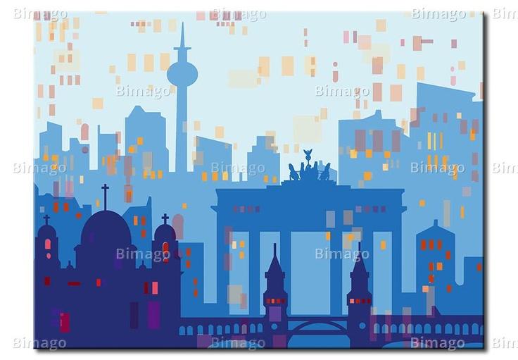 Berlin digital art