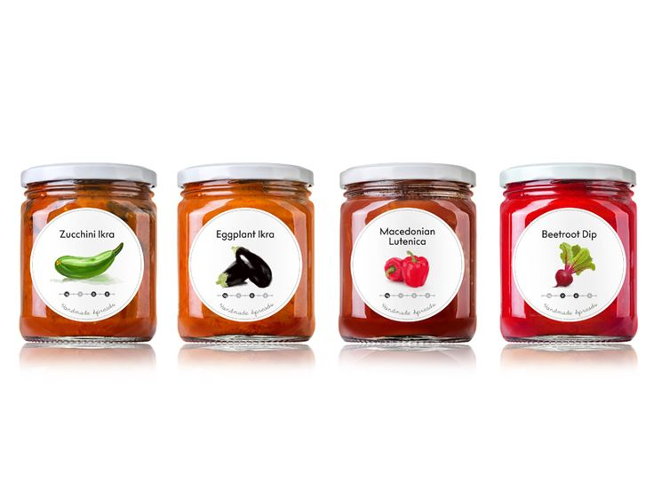Spreads & Dips Package Designs