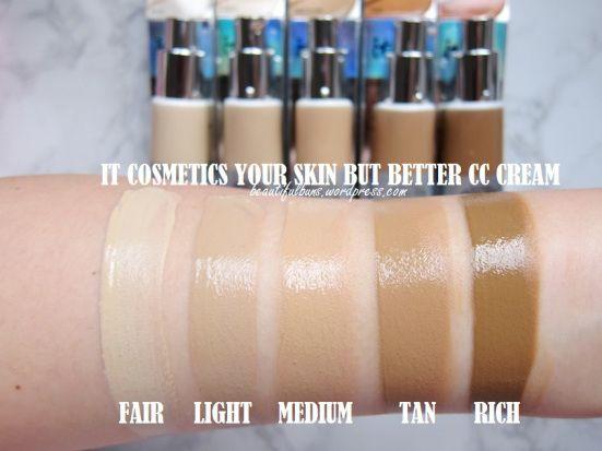 Image result for it cosmetics cc cream tan