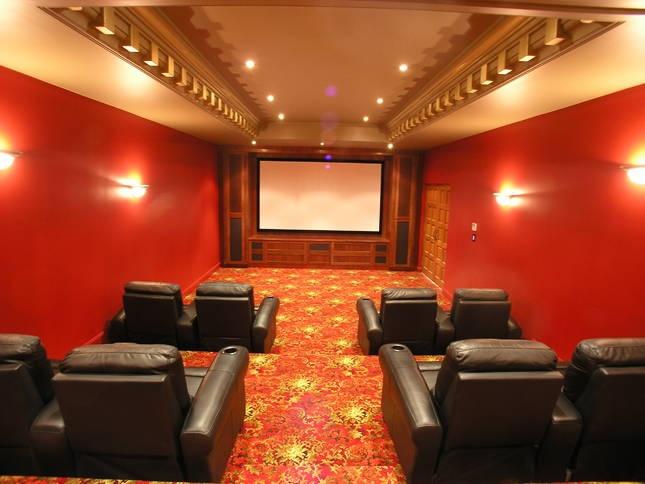 "Home theater? Why not. | ""Villa Vivante"" Coffs Harbour"