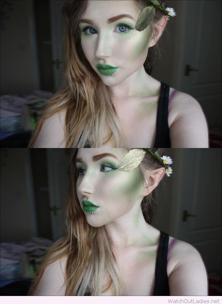 Halloween Elf makeup                                                                                                                                                     More