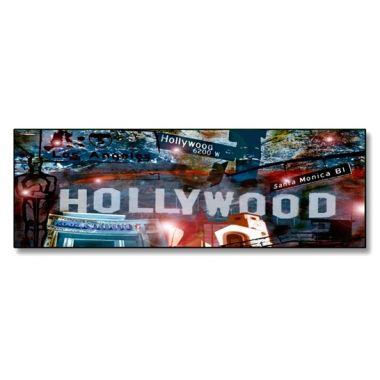 #CUADRO #HOLLYWOOD #Lámina fotográfica de medida 30x90, impresa sobre panel de aluminio de 5mm que genera un efecto flotante sobre la pared.  Cuadro original, decorativo y muy duradero.  #Decorar tu hogar u oficina nunca ha sido tan fácil como ahora con nuestra tienda on-line.  57,20 €