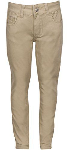 Premium Skinny Stretchable School Uniform Pants for Girls - Khaki, Navy, Black Have you been finding it difficult to get a skinny pant with stretchable material that looks stylish too? Or  Are you looking for a skinny pant that can be comfortably worn for long durations without causing itching, excessive sweating or irritation?  Well, we bring to you a skinny pant design that you will love for its many incredible features and benefits:  – Stylish skinny fit with straig
