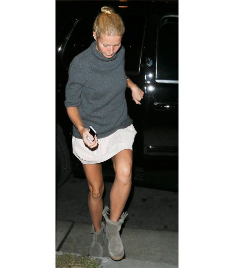 The Boots Your Favorite Celebs Are Wearing Now Gyneth Paltrow. Isabel Marant Tracy Suede, Printed Calf Hair and Leather Boots