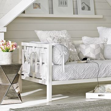 Office idea - daybed. From West Elm: http://www.westelm.com/products/window-daybed-g093/?pkey=cdaybeds-futons-sleepers
