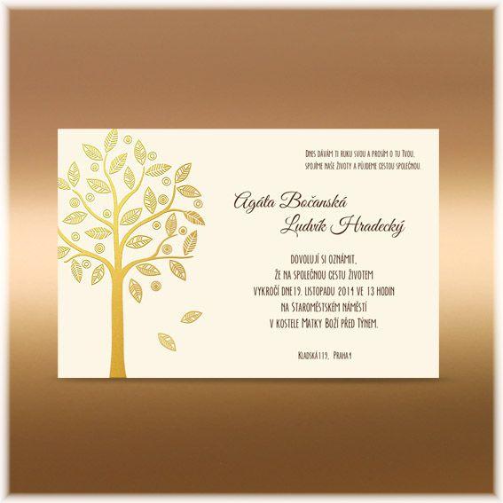Svatební texty | Svatební oznámení