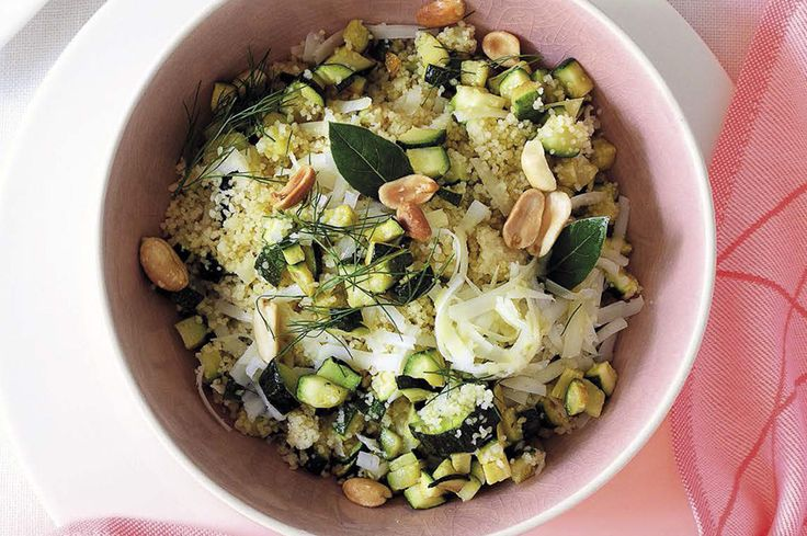 Cuscus con zucchine e pecorino fresco