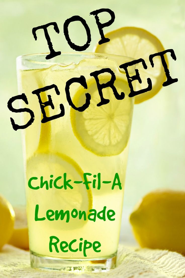 What is the secret that makes Chick-fil-A lemonade taste unique?  Is it the lemons, the type of sugar, the water, the juicer, or something else?  Get the recipe!