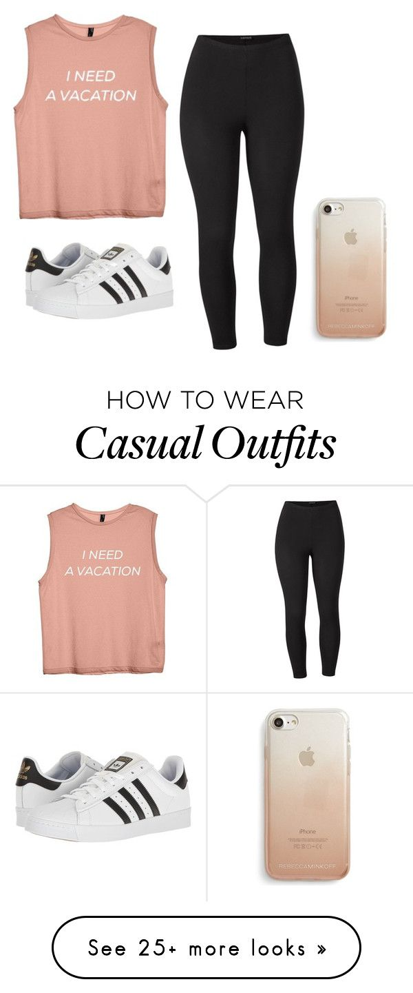 """""""Casual"""" by queen-fia on Polyvore featuring Venus, adidas, Rebecca Minkoff and plus size clothing"""