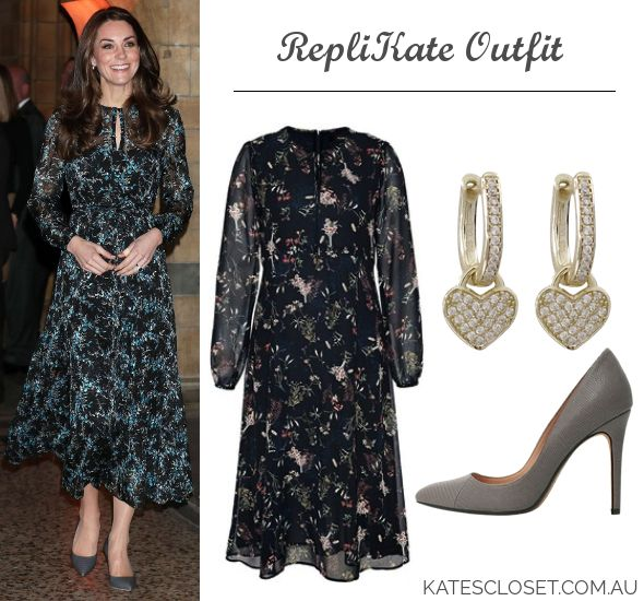 Kate Middleton, Duchess of Cambridge Outfit Inspiration. RepliKate outfit for less! Click to shop the look for less