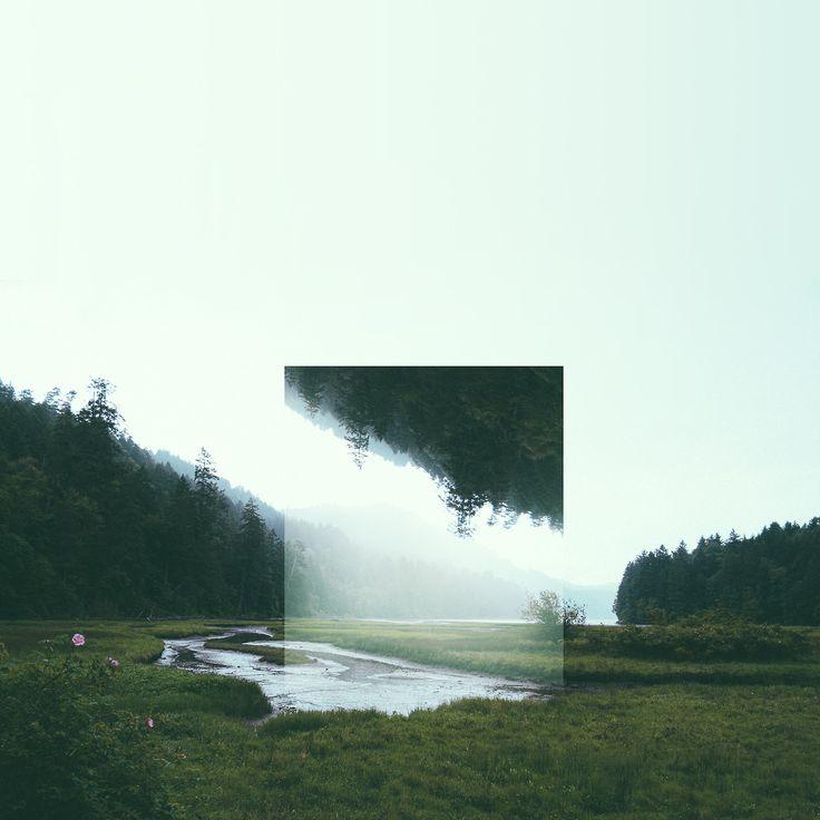 Reflected Landscapes by Victoria Siemer これは綺麗すぎる。いろんな観光地に試し置きしてみてほしい