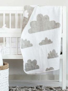 Cloudy Baby Blanket