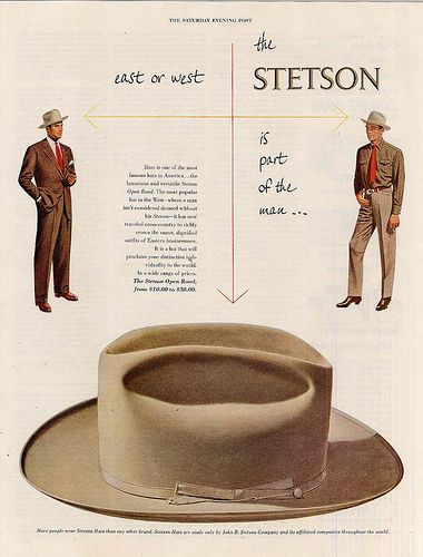 Stetson - The Open Road, 1950 by BassTee, via Flickr