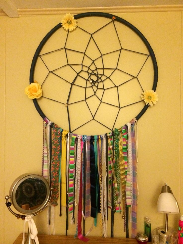hula hoop to diy oversized dream catcher diy pinterest
