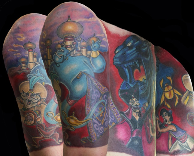 203 best tattoo inspiration images on pinterest for Aladin tattoo salon