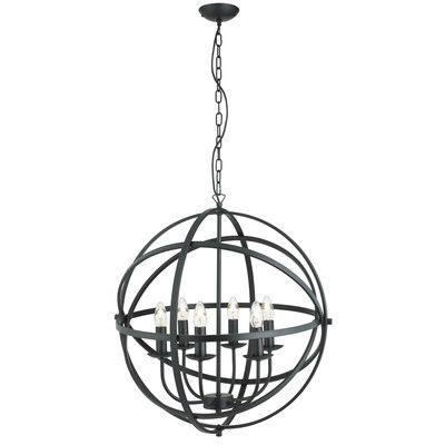 Orbit 6 Light Globe Pendant