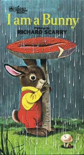 my earliest book memory - I am a Bunny by Richard Scarry