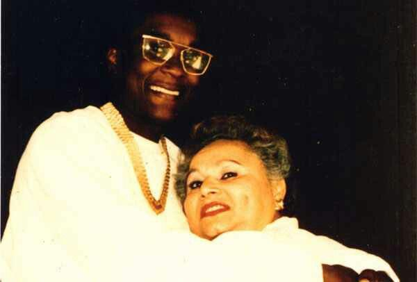 Griselda Blanco & her man note the gold