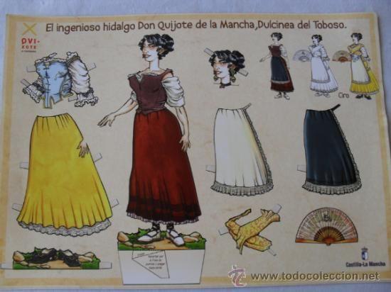 RECORTABLE EL INGENIOSO HIDALGO DON QUIJOTE DE LA MANCHA - Foto 2