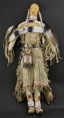 Dolls - SOLD - Northern Plains Beaded Doll