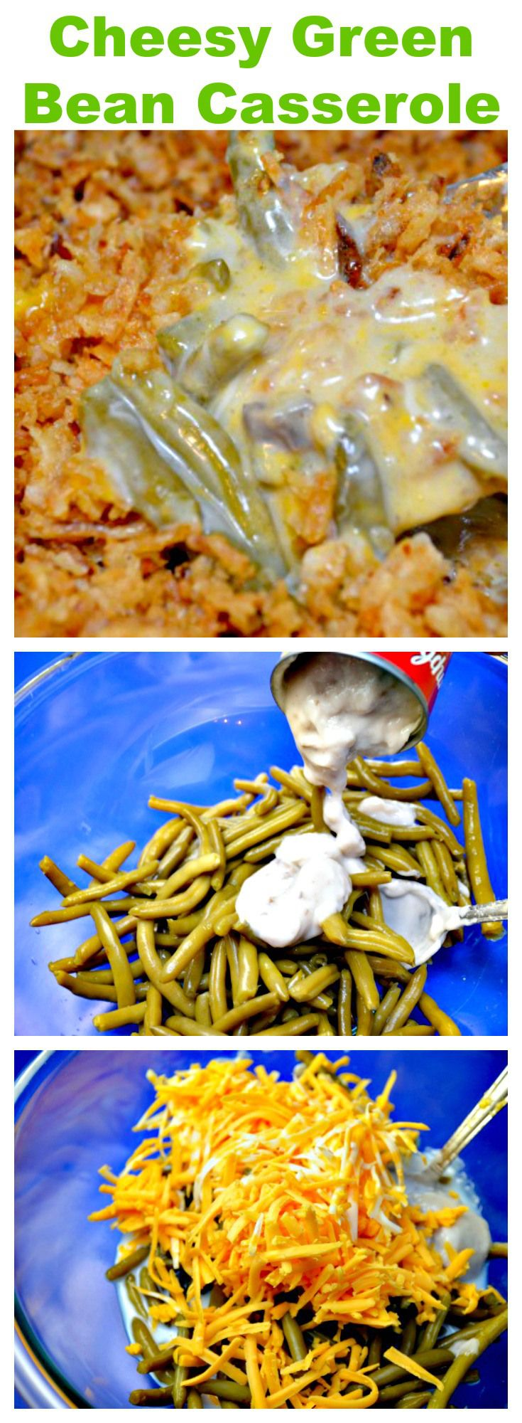Green Bean Casserole is a Thanksgiving tradition at most homes.  I kicked up the…