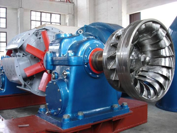 Francis Turbine : Widely used water turbine